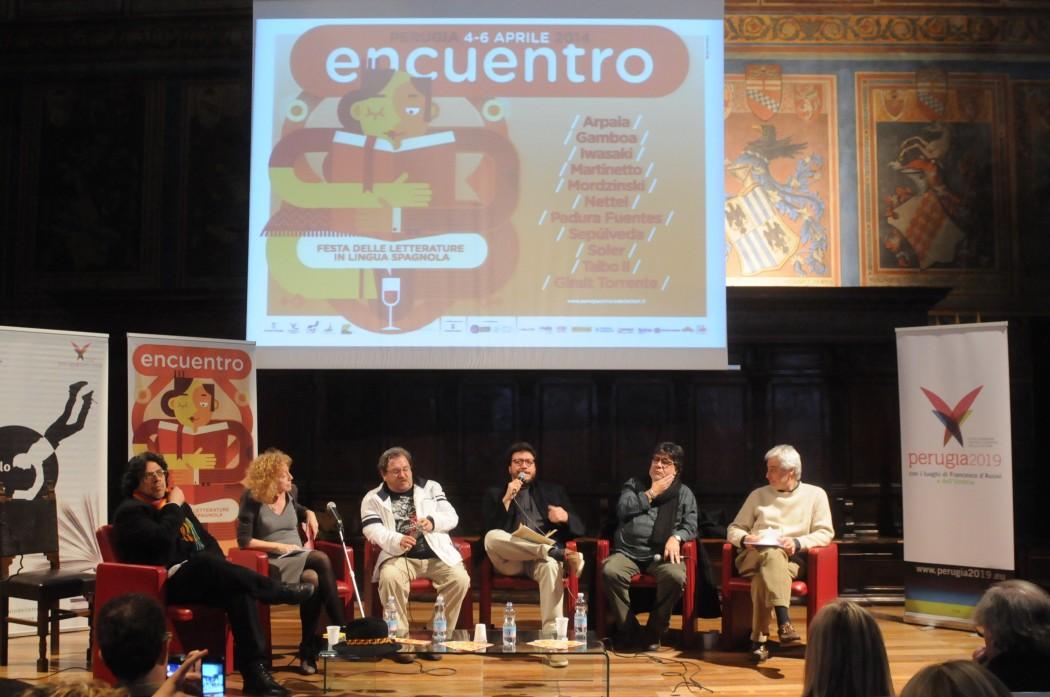 ENCUENTRO 2014 - Mordzinski, Paco, Gamboa, Sepulveda, Arpaia
