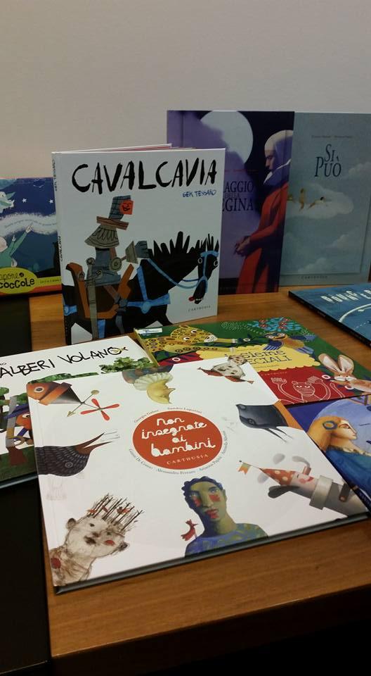 I libri di Carthusia Edizioni alla biblioteca Villa Urbani